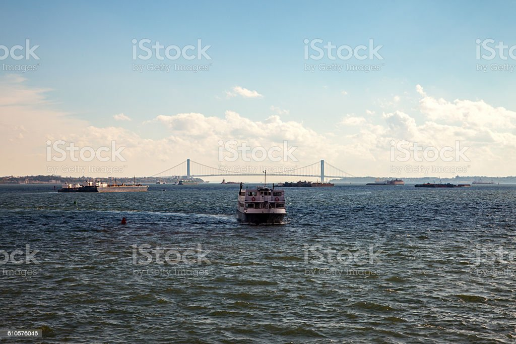 The Bosphorus Bridge stock photo