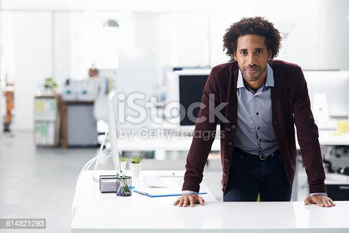 istock The boss knows what he wants 514321293
