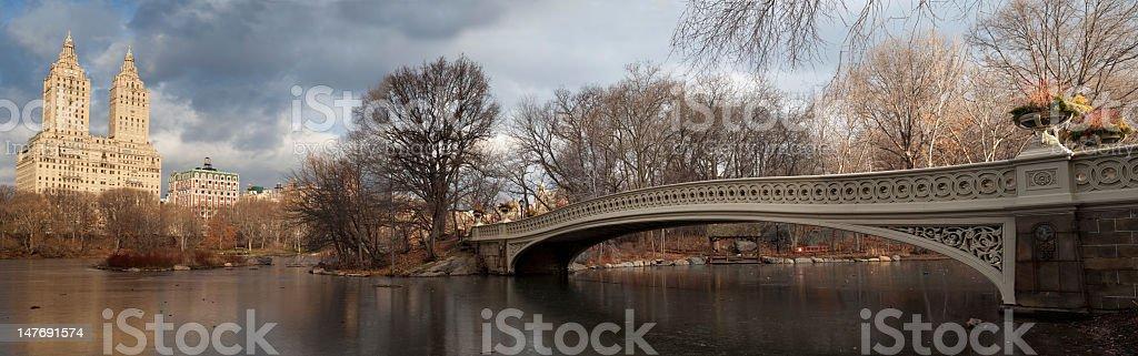 The bow bridge royalty-free stock photo