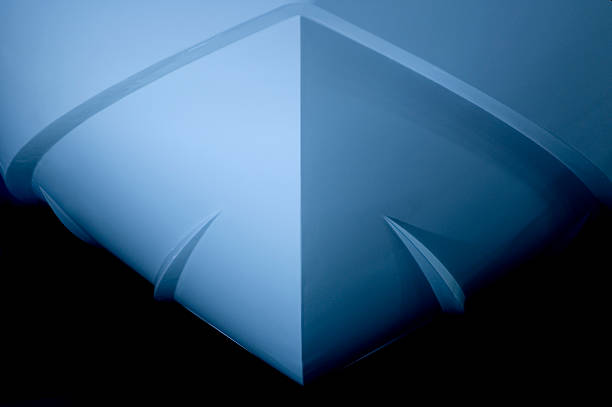 the bow of a ship - hull stock pictures, royalty-free photos & images