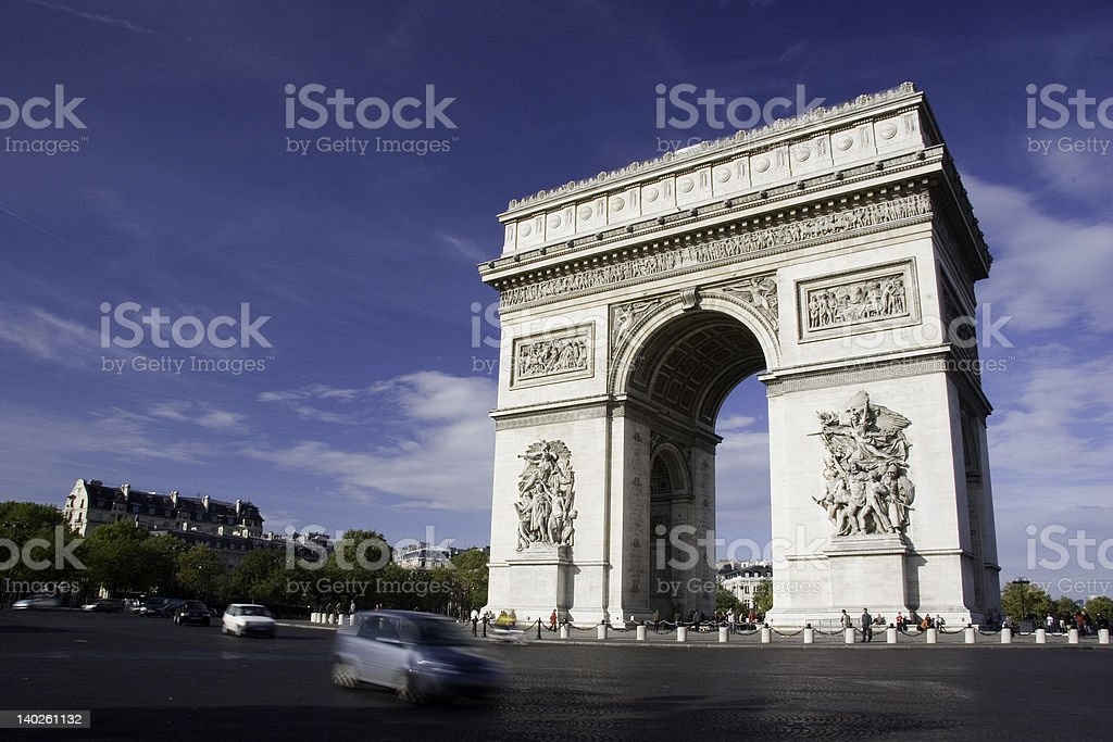 le arc royalty-free stock photo
