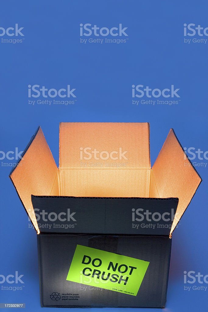 The Box stock photo