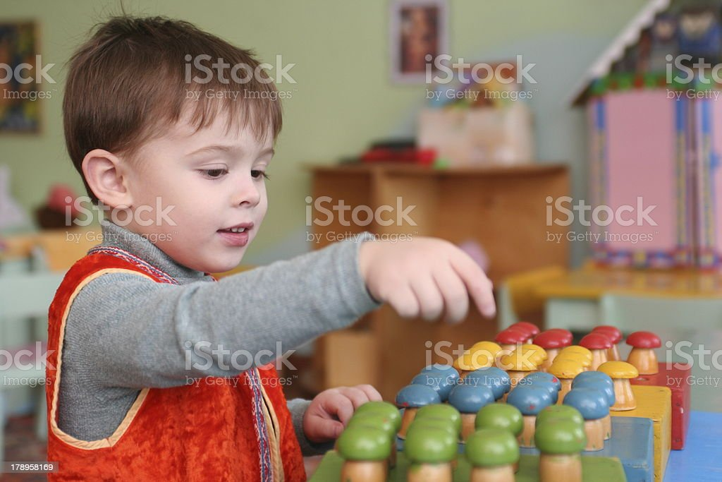 The boy royalty-free stock photo