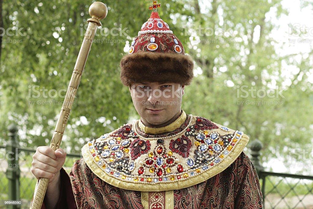 The boyar royalty-free stock photo