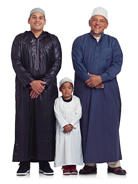 Los niños de la familia - foto de stock