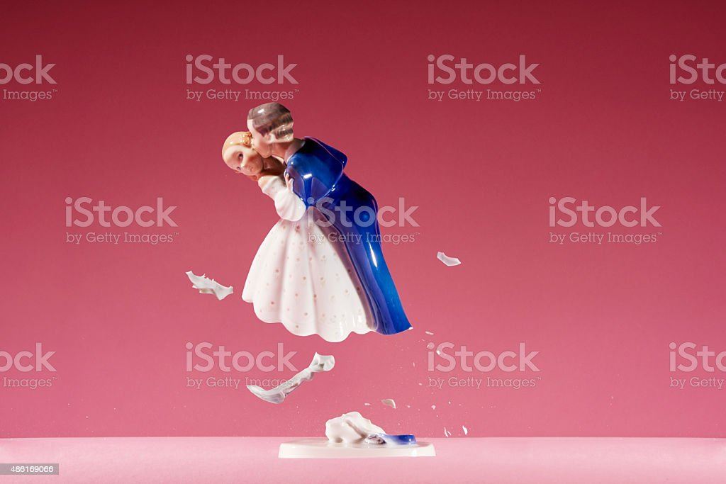 The brack up stock photo