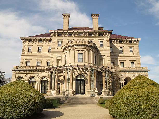 The Breakers Mansion in Newport, Rhode Island – Foto