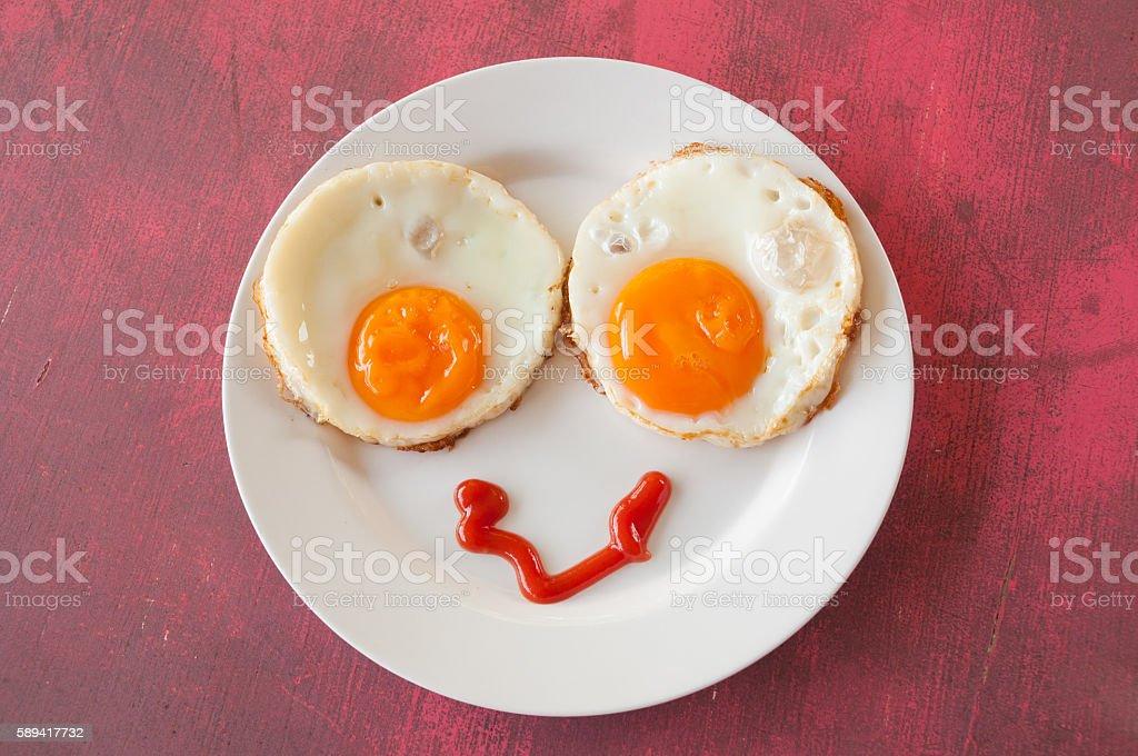The breakfast emotion #1 stock photo