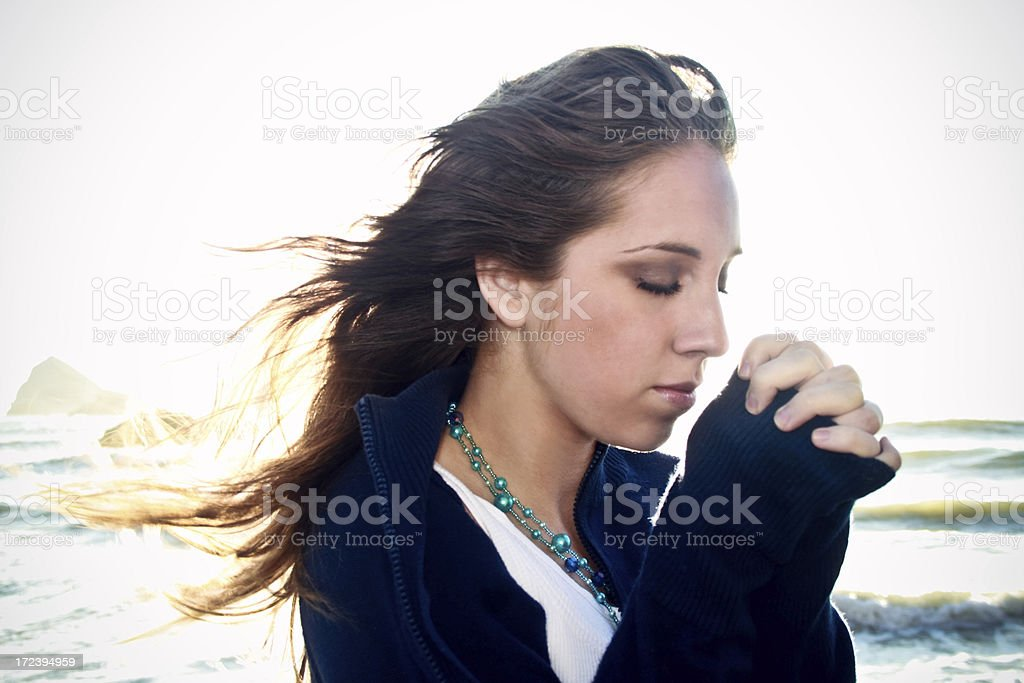 The Breeze of Prayer royalty-free stock photo