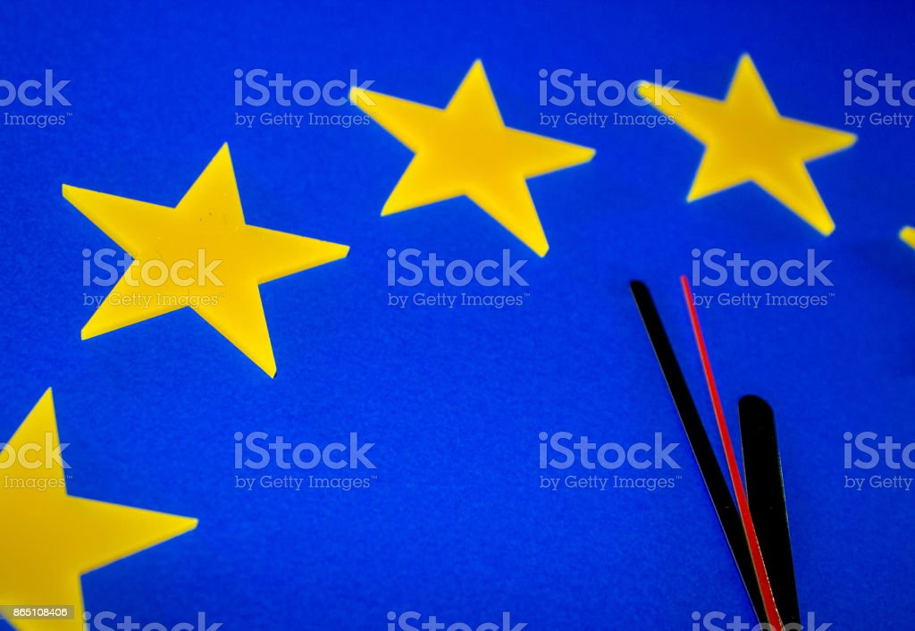 The Brexit Countdown - foto stock