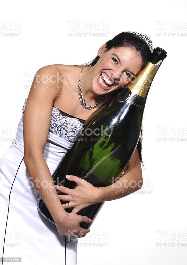 The bride. stock photo
