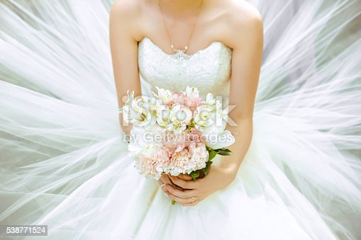 istock The bride's bouquet 538771524
