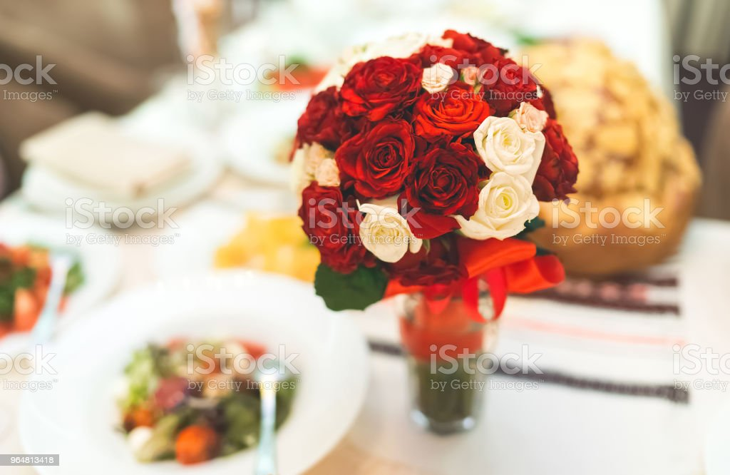 The bride's bouquet royalty-free stock photo