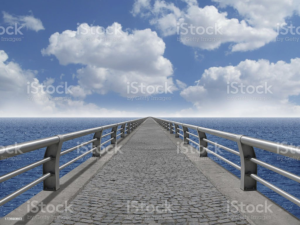 The Bridge 2 royalty-free stock photo