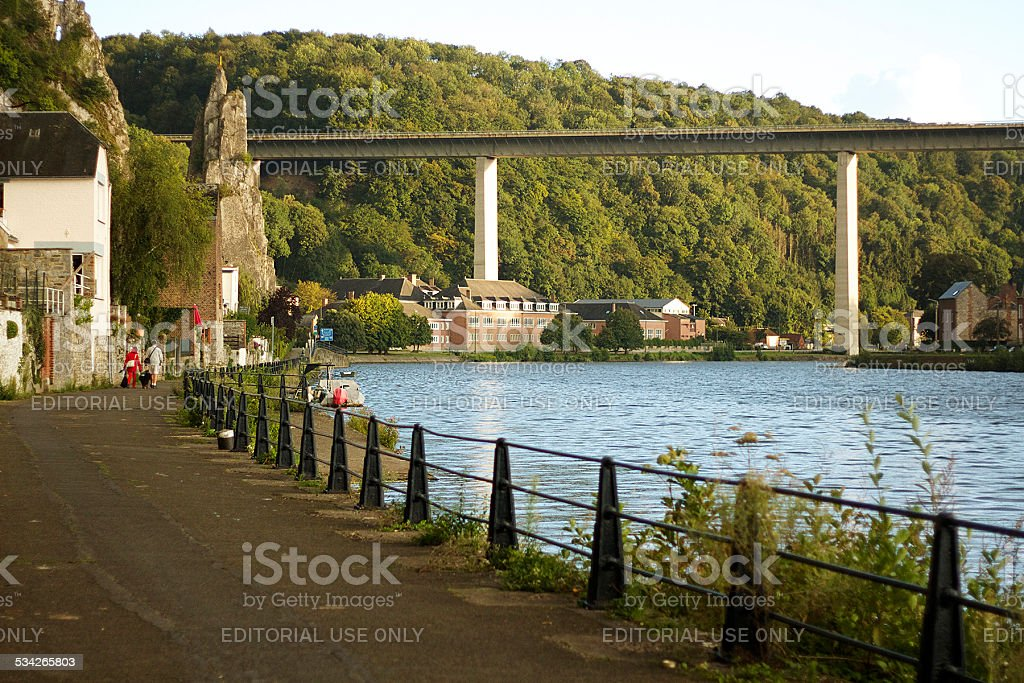 The Bridge of Charlemagne, N97 stock photo