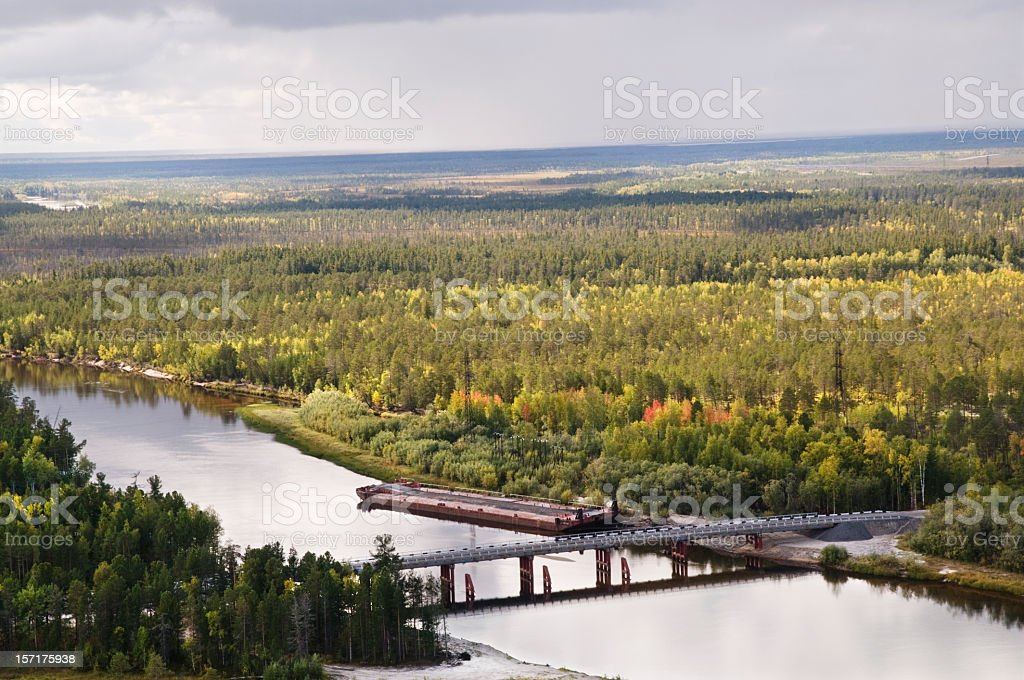 The bridge. royalty-free stock photo