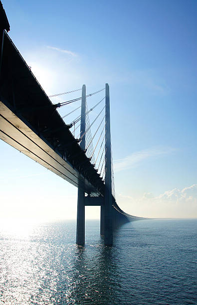 the bridge - öresund bildbanksfoton och bilder