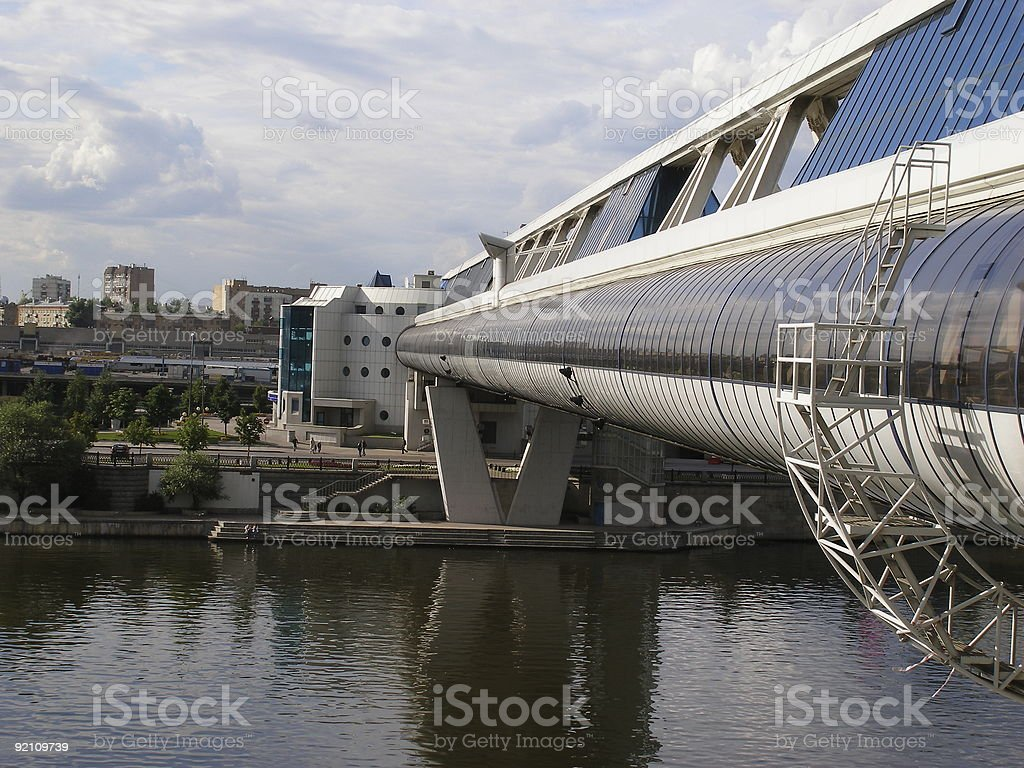 the bridge royalty-free stock photo