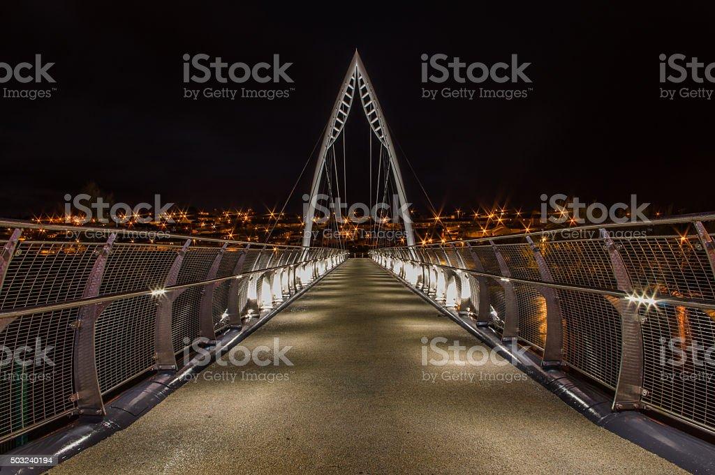 The Bridge With No Name II stock photo