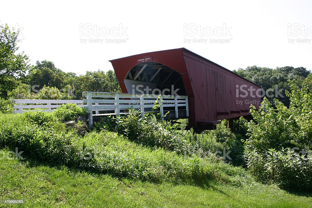 The Bridges of Madison County #2 royalty-free stock photo