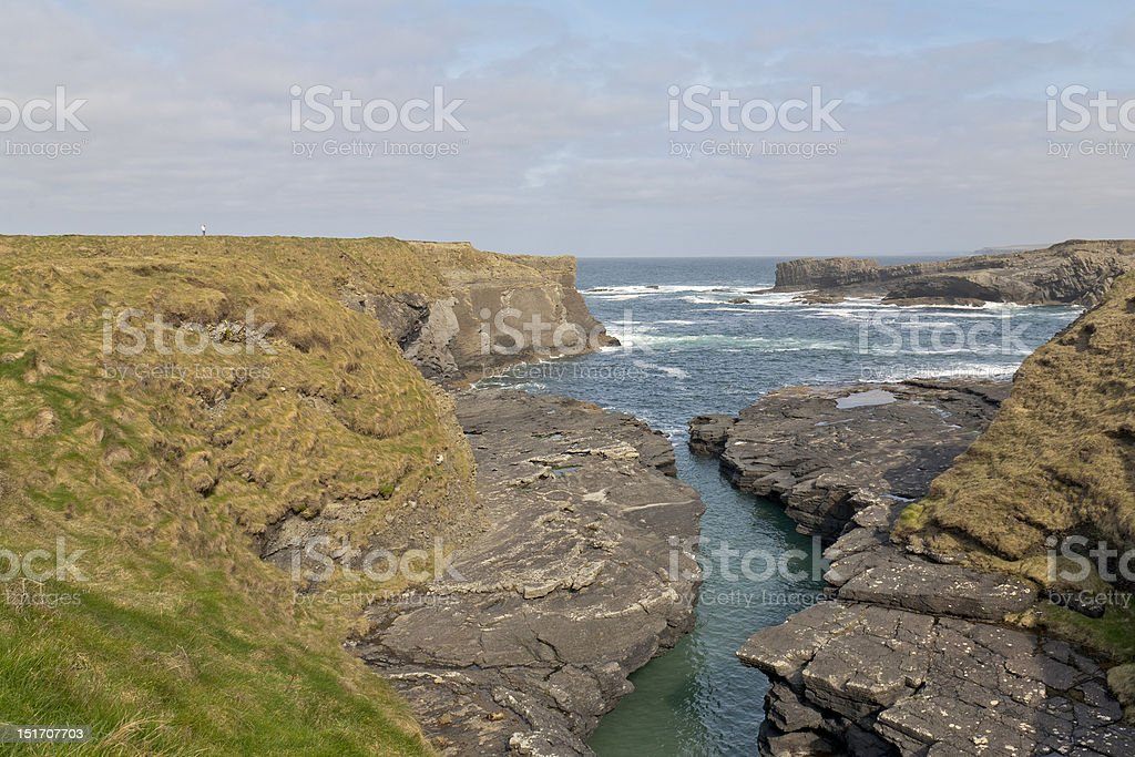 The Bridges of Ross in County Clare, Ireland stock photo