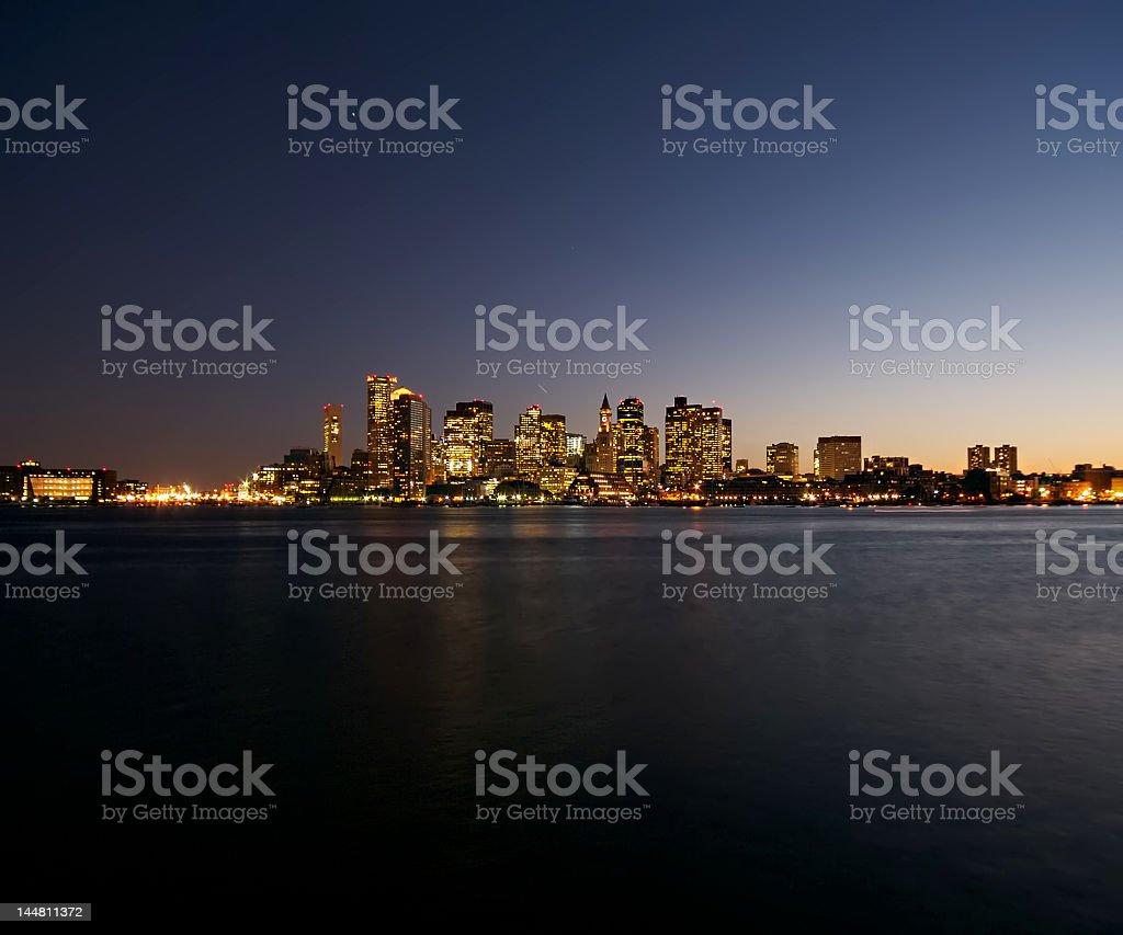 The Bright City royalty-free stock photo