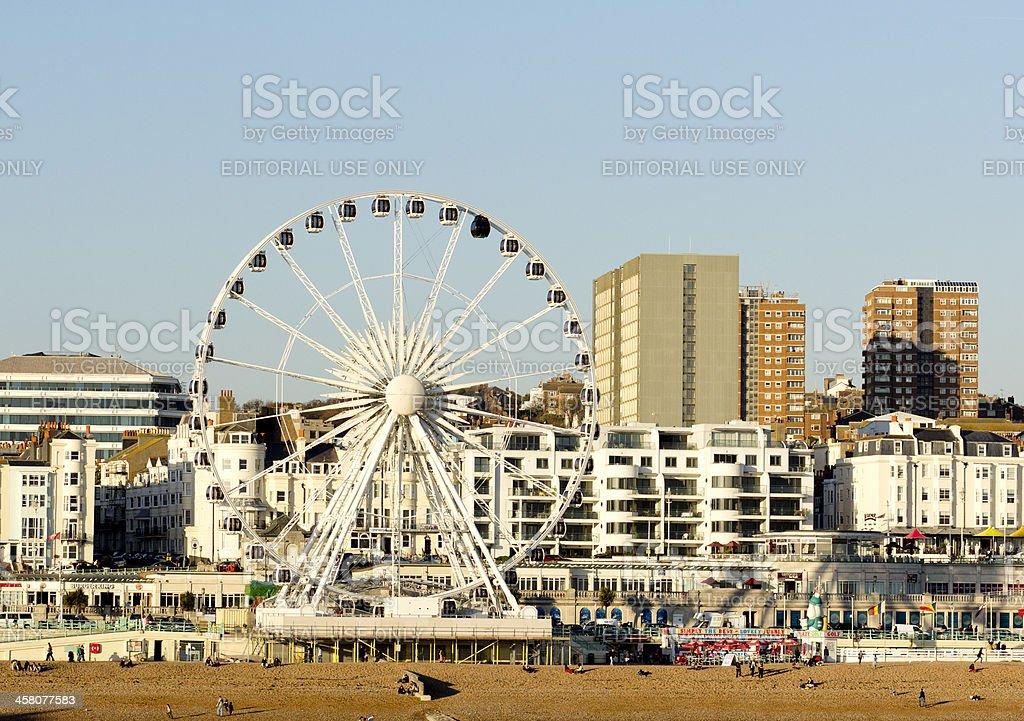 The Brighton Wheel stock photo