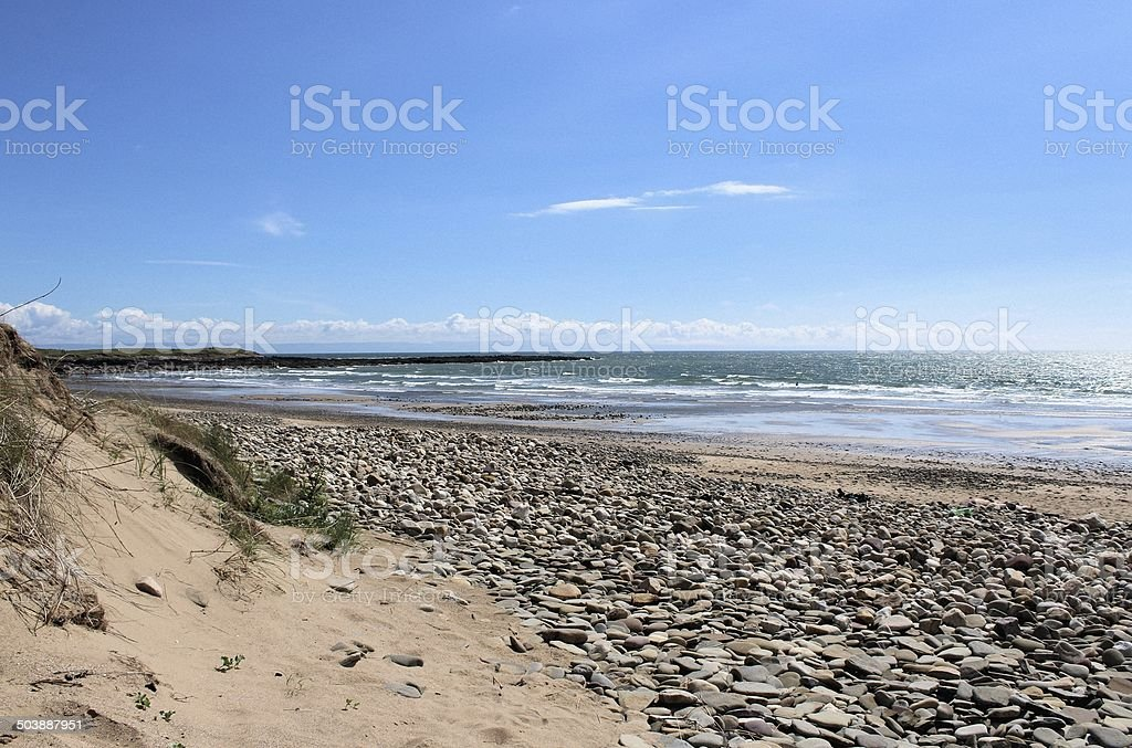 The Bristol Channel stock photo