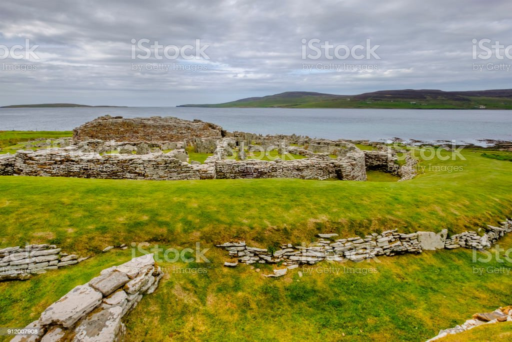The Broch Of Gurness One Of The Most Outstanding Surviving Examples