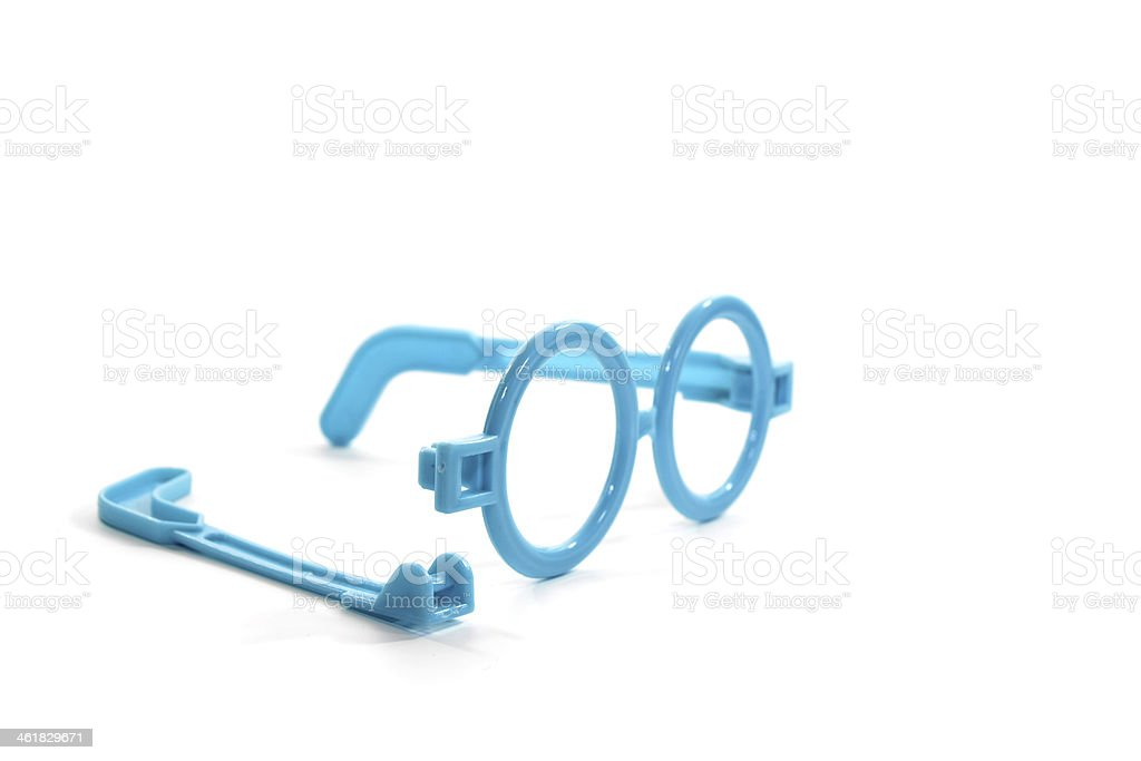 The Broken Glasses stock photo