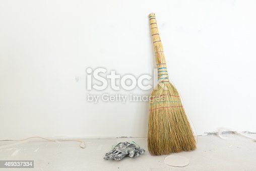473158422 istock photo the broom is necessary for cleaning 469337334