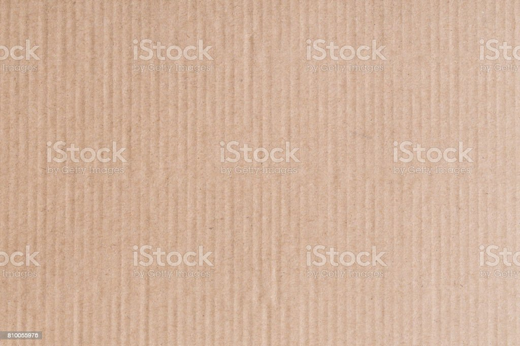 The brown paper box is empty,Abstract cardboard background stock photo