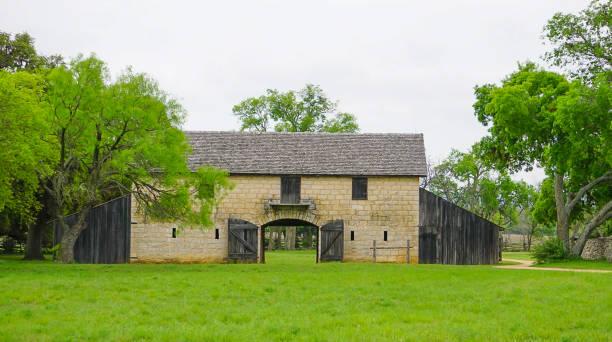 The Brucker Barn stock photo