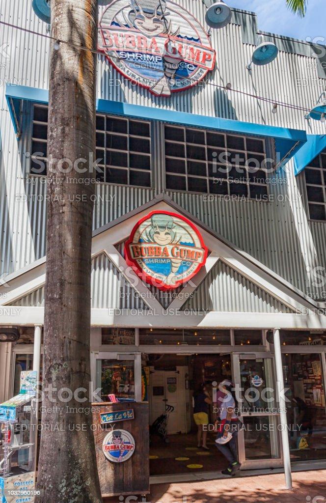 The Bubba Gump market. The Bubba Gump Shrimp Company Restaurant and...