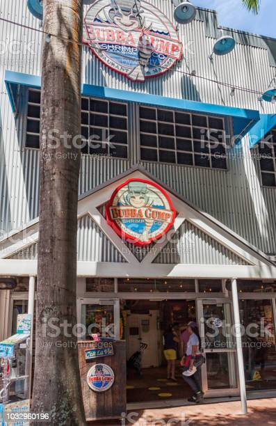 The Bubba Gump market. The Bubba Gump Shrimp Company Restaurant and Market is a seafood restaurant inspired by the 1994 movie Forrest Gump.