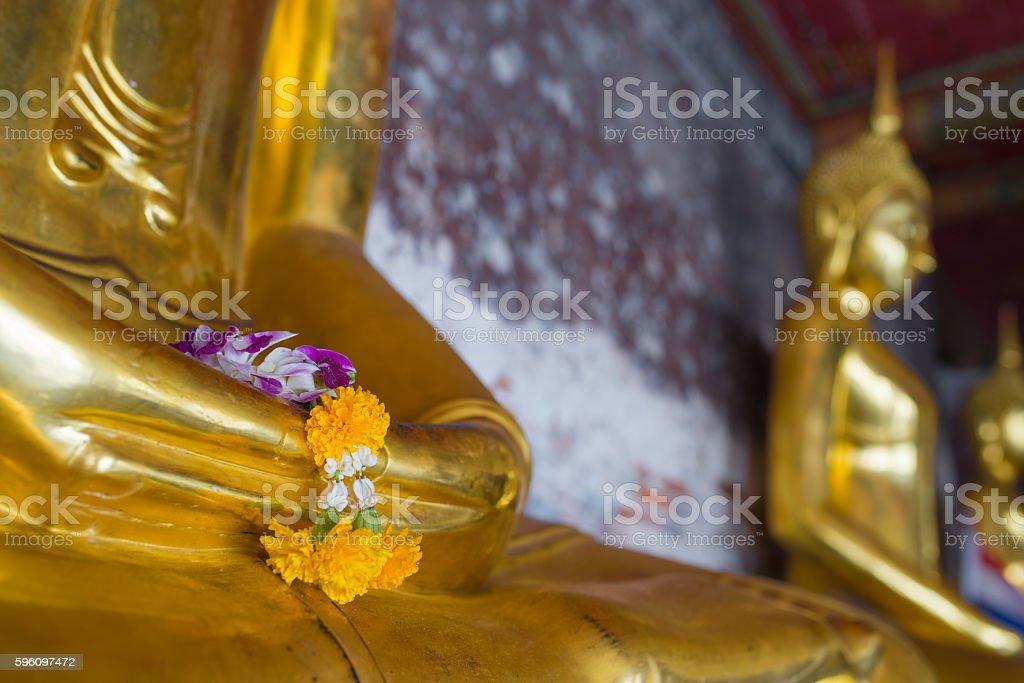 The Buddha image Lizenzfreies stock-foto