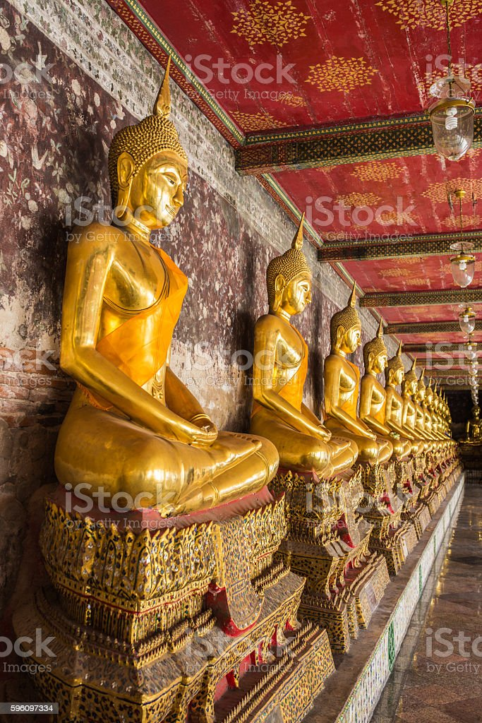 The Buddha images royalty-free stock photo
