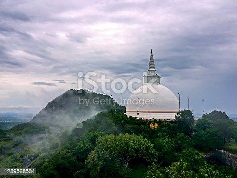istock The Buddhist Pagoda in Mihintale, Sri Lanka 1289568534
