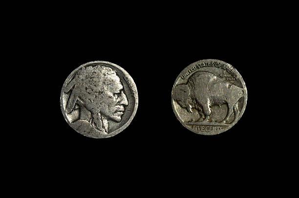 The Buffalo Nickel, AKA The Indian Head Nickel – Foto