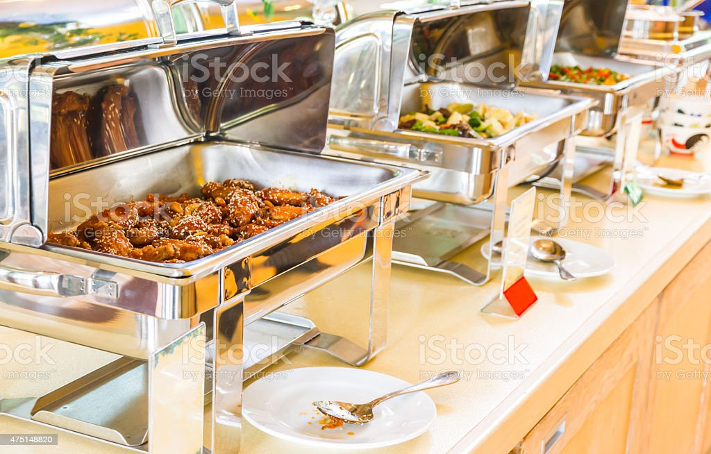 The buffets. stock photo