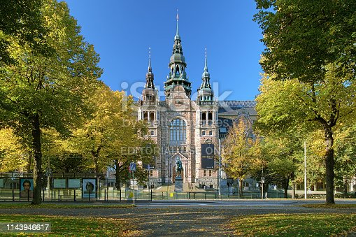 istock The building of the Nordic Museum in Stockholm, Sweden 1143946617