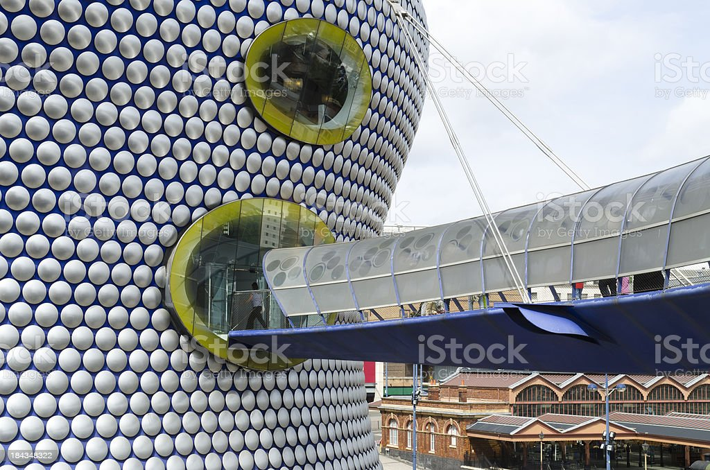The Bullring Birmingham royalty-free stock photo