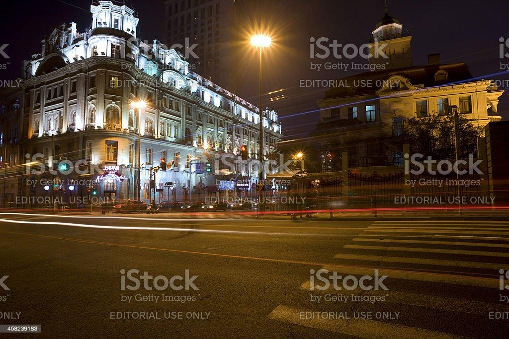 The Bund, Shanghai royalty-free stock photo