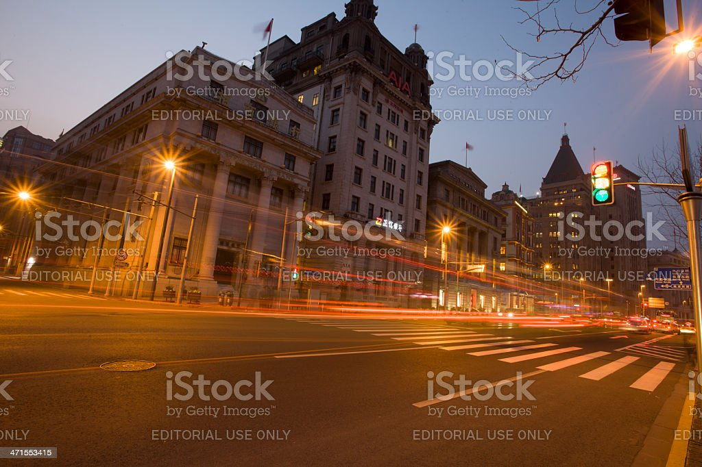 The Bund, Shanghai royalty-free stock photo