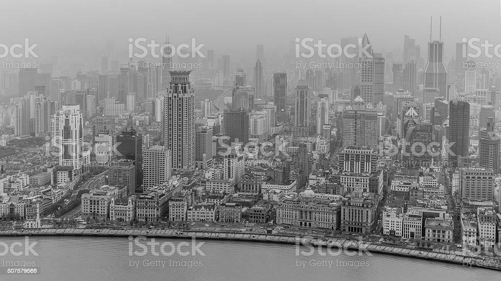 The Bund Shanghai stock photo