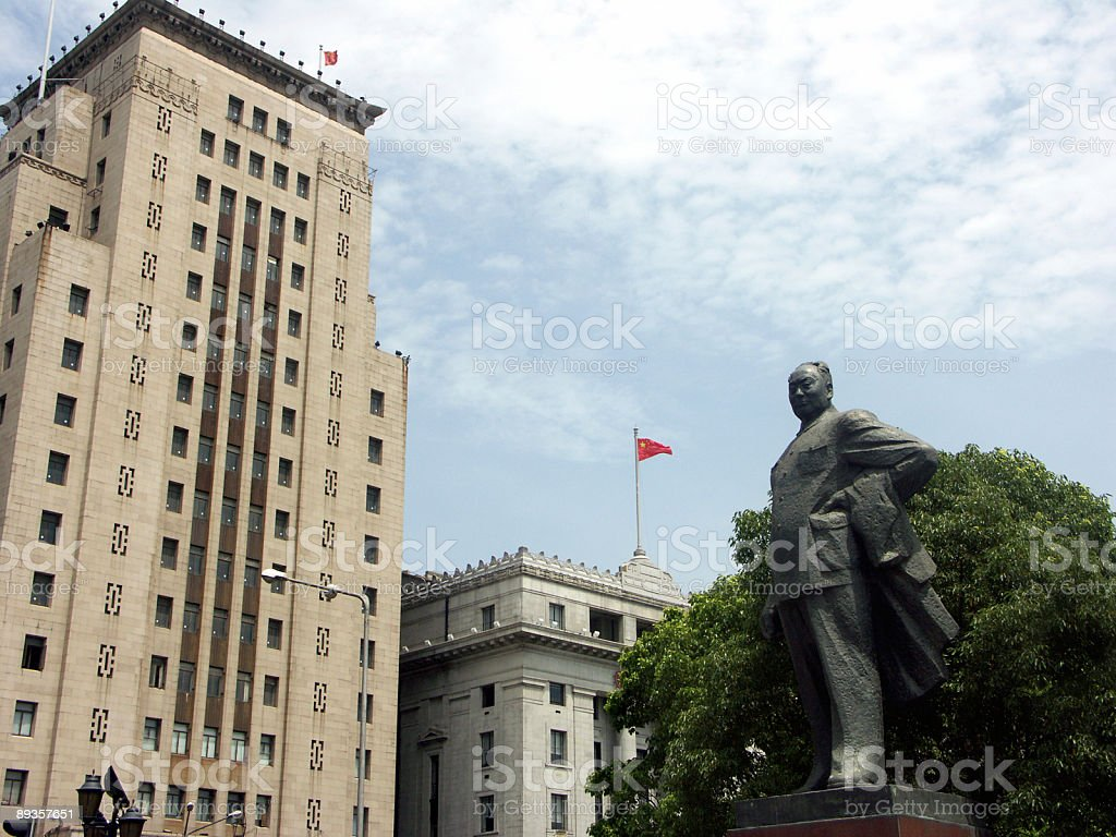 the bund a Shanghai foto stock royalty-free