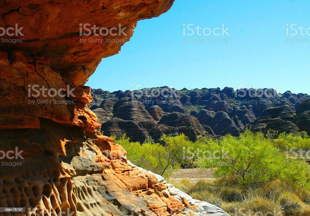 The Bungle Bungle Ranges, Western Australia, Australia stock photo