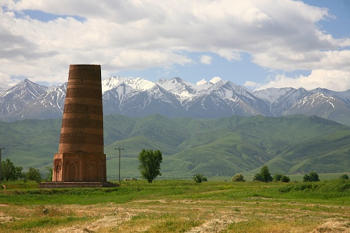 istock The Burana Tower in the Chuy Valley at northern  of the country's capital Bishkek, Kyrgyzstan 984289554
