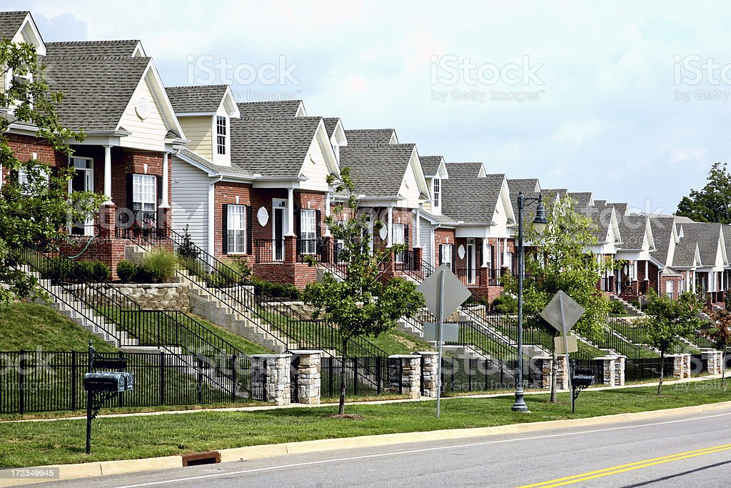 The Burbs royalty-free stock photo