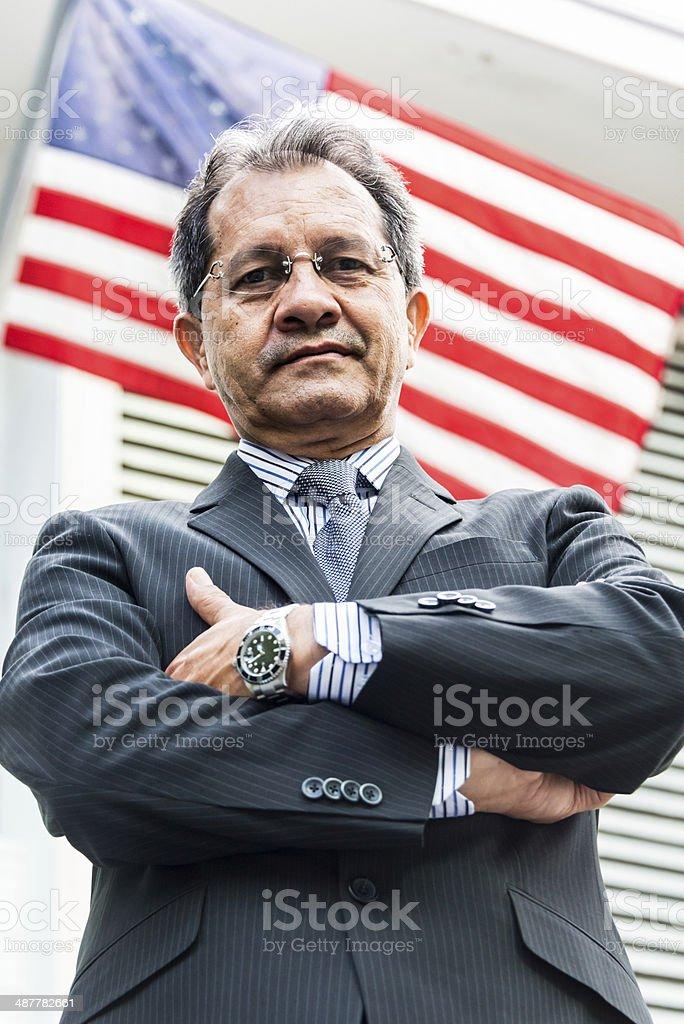 The bureaucrat stock photo